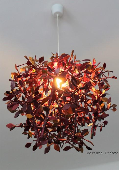 lampadario_albero-nido-rami-unico-fatto_a_mano_lampada_originale-pendente_da_soffitto_country-natura_colori_caldi- _home_decor-artistico_pezzo_unico-artigianale-cartapesta-riciclo-ecodesign-regalo_casa-liberty