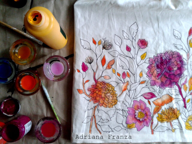 vestito-personalizzato-dipinto-decorazione-floreale-dipintoamano