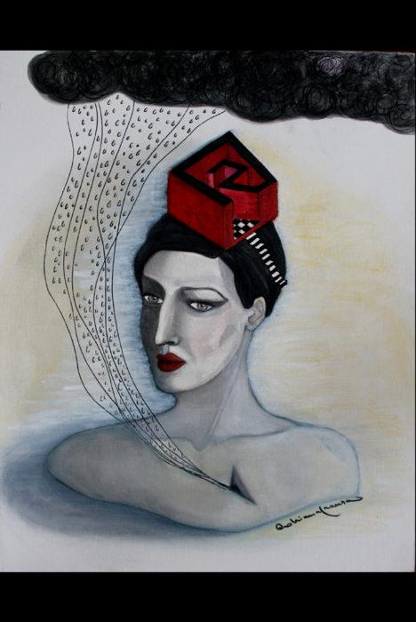 Labirinto-cervello-simbolismo-surrealismo-quadro