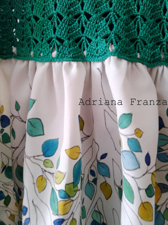 custom-hand_painted-dress-leaver-ramage-decoration-green-hand-painted-crochet-one_of_a_kind-unique-original_dress