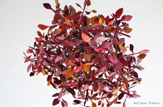 chandelier_tree-nest-branches-unique-hand-made_lamp_original-pendant_country-nature-warm_colors _home_decor-artistic_piece_unique-handcrafted-papier-mache-recycling-ecodesign-gift_for_home- sustainable design-brown-orange- burgundy red