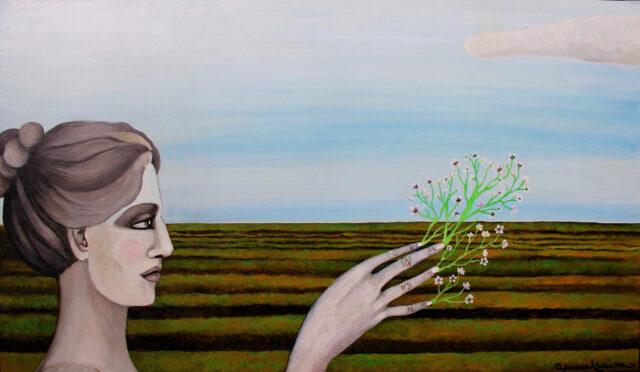ceres-symbolist_painting-statue_ancient-statuary_classic-fertility-prosperity-femininity-divinity_feminine-power_of_nature-fecundity-flowers-fingers-spring-seeds-wheat-landscape_metaphysical-figurative_art-classical_mythology-demeter-rome
