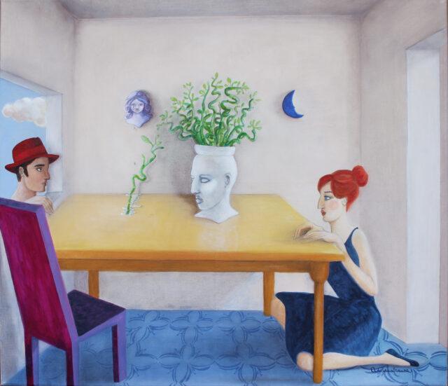 sicilian-ceramic-surrealist-painting-love-story-distrust-nothingisimpossible