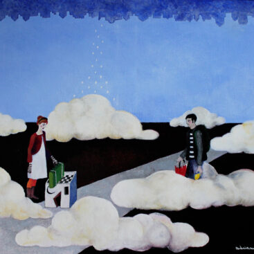 surrealist_painting-travel-leave-goodbye-lemon-suitcase-lovers-journey-fate-destiny-street-new_town