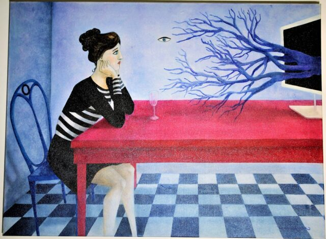 surrealist-painting-flying-eye-lost-in-thoughts-branches-monitor-melancholy-chess-woman