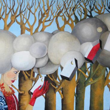 surrealist_painting-storm_clouds_soul-woman-memories-changes-new_life-emotional_unrest-agitation