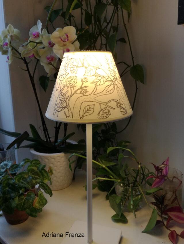 paralume_dipinto_a_mano-abat_jour-originale-design_contemporaneo-homedecor-arte-paralume_dipinto-bianco_e_nero-regalo-casa