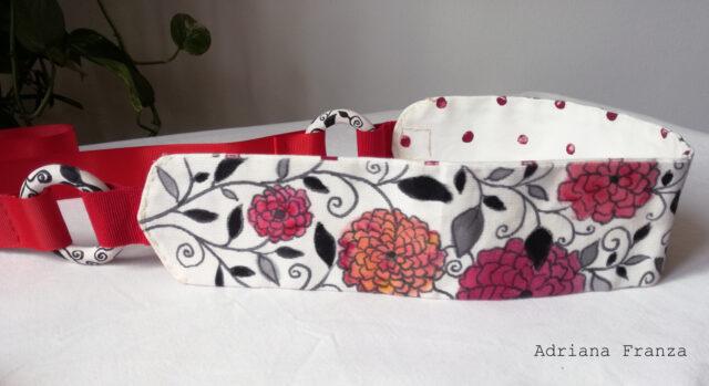 dalie-cintura-moda-noto-artigianale-dipinta-fiori-doubleface-obi-elegante